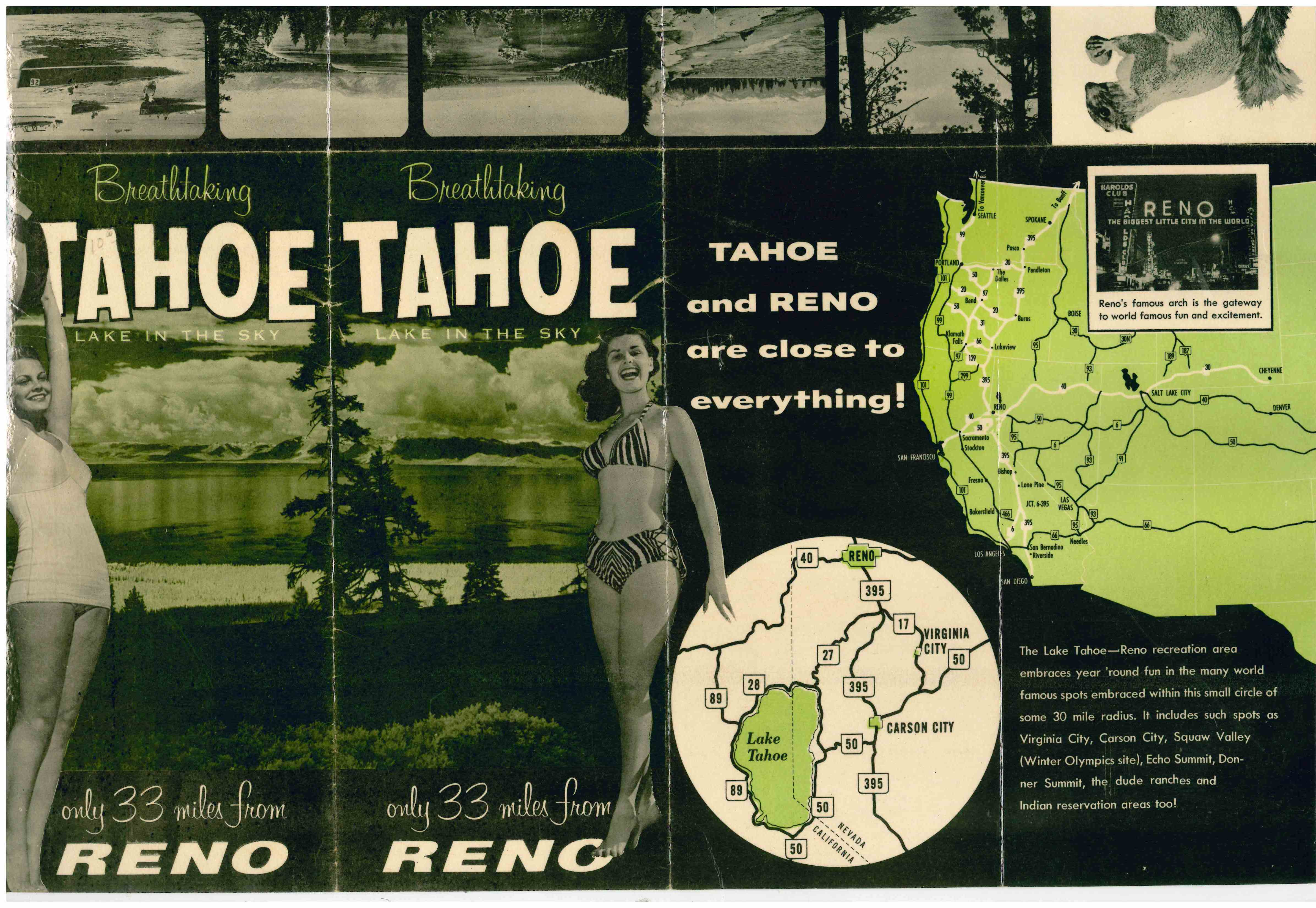 1965 Tahoe Travel Promotion