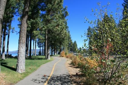 El Dorado Beach to Ski Run Bike Trail