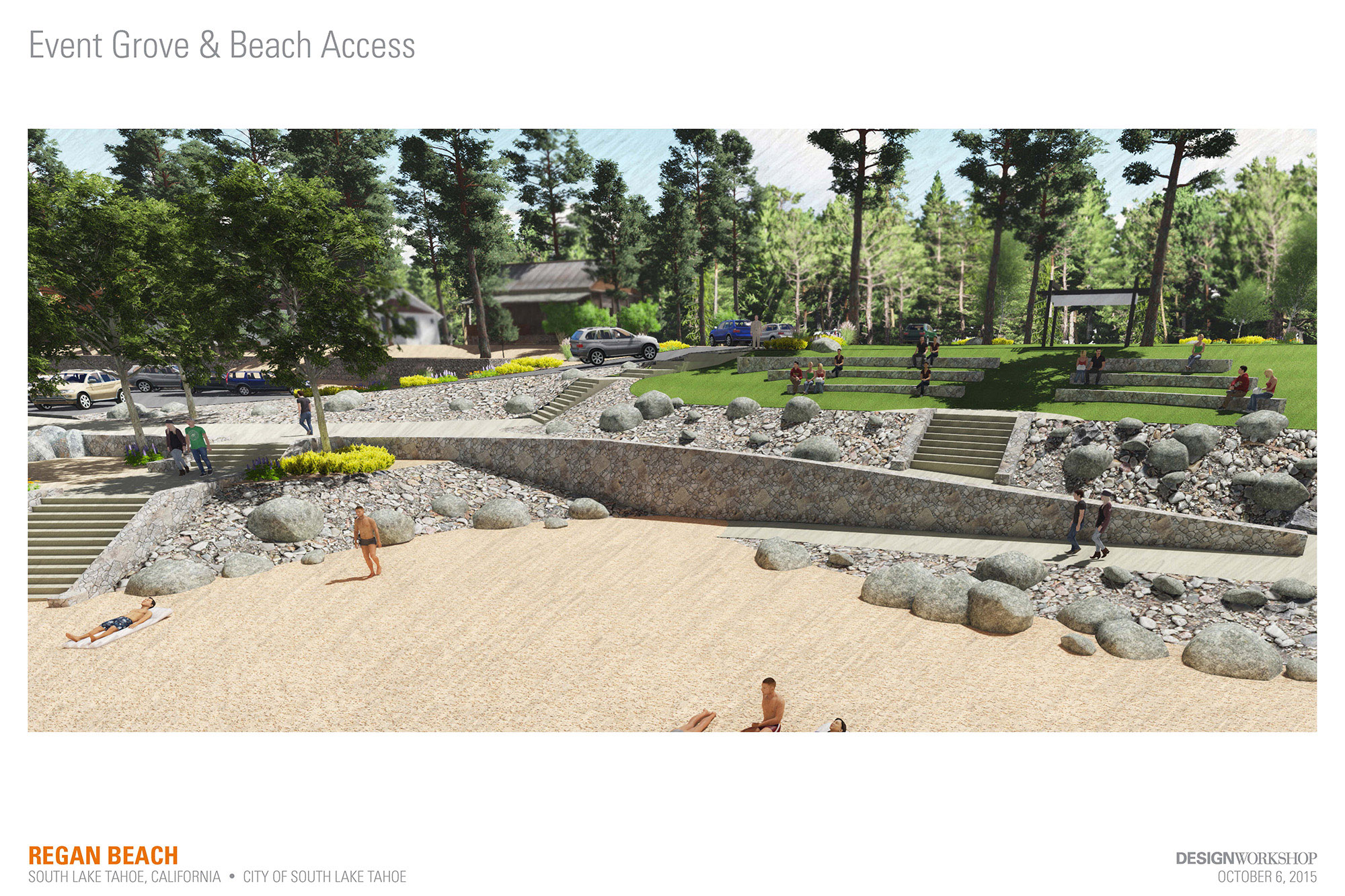 Event Grove and Beach Access