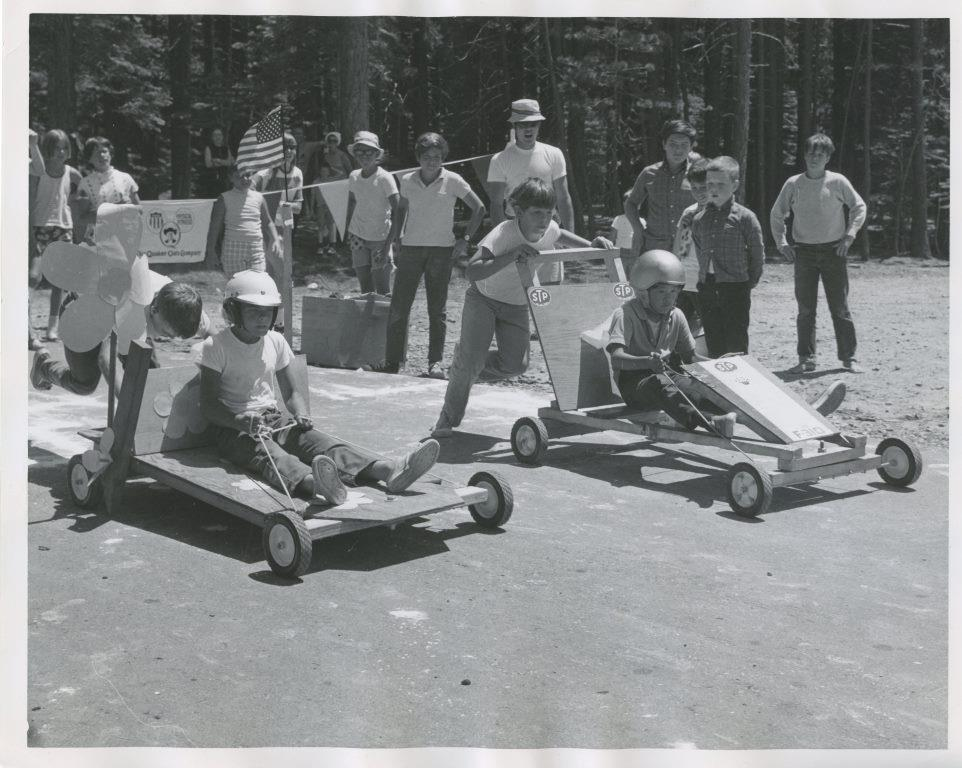 1971 Recreation Deptartment Youth racing go carts