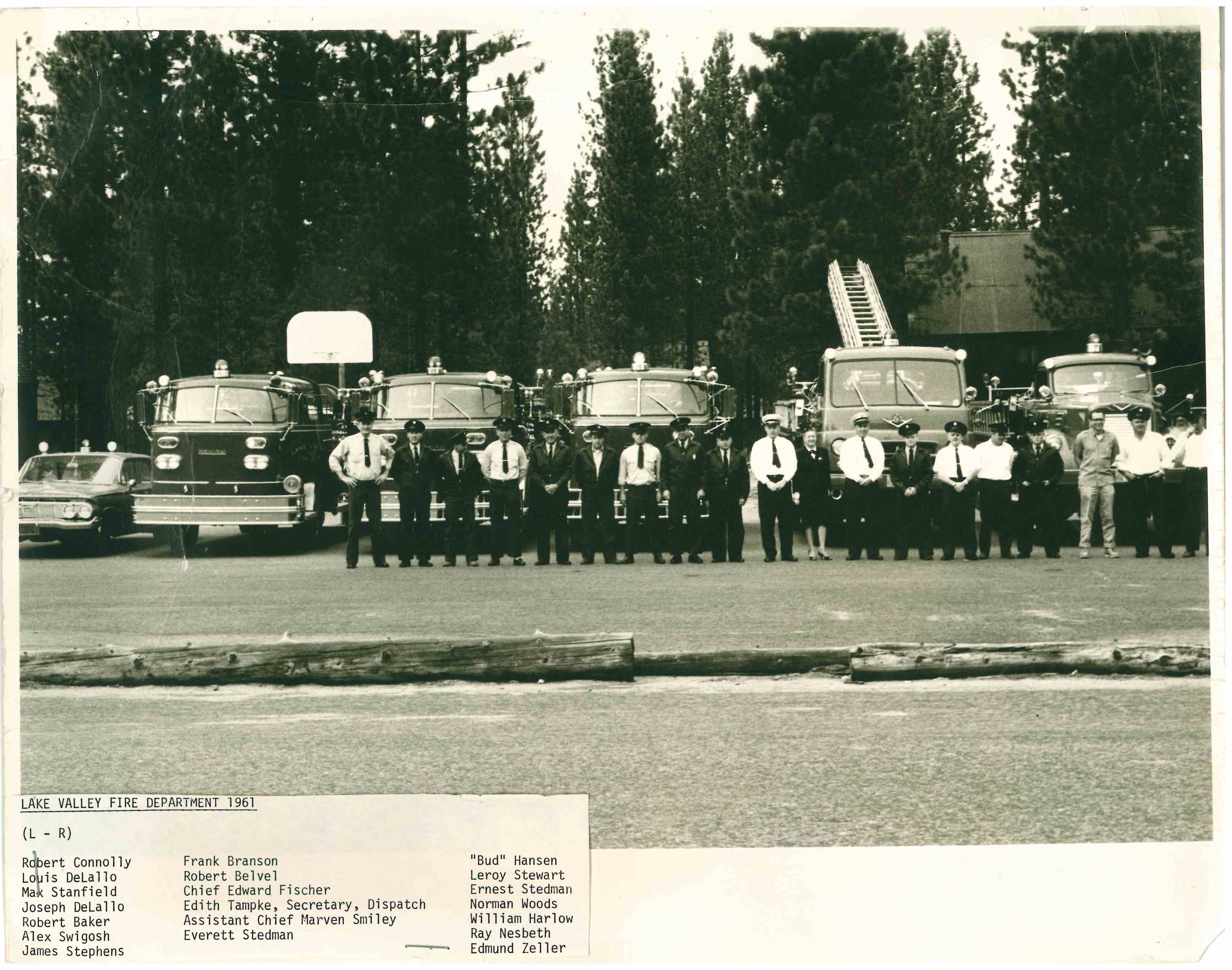 Lake Valley Fire 1961 with Norm Woods