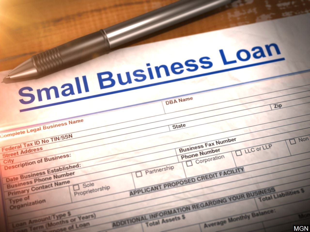 small business loan program