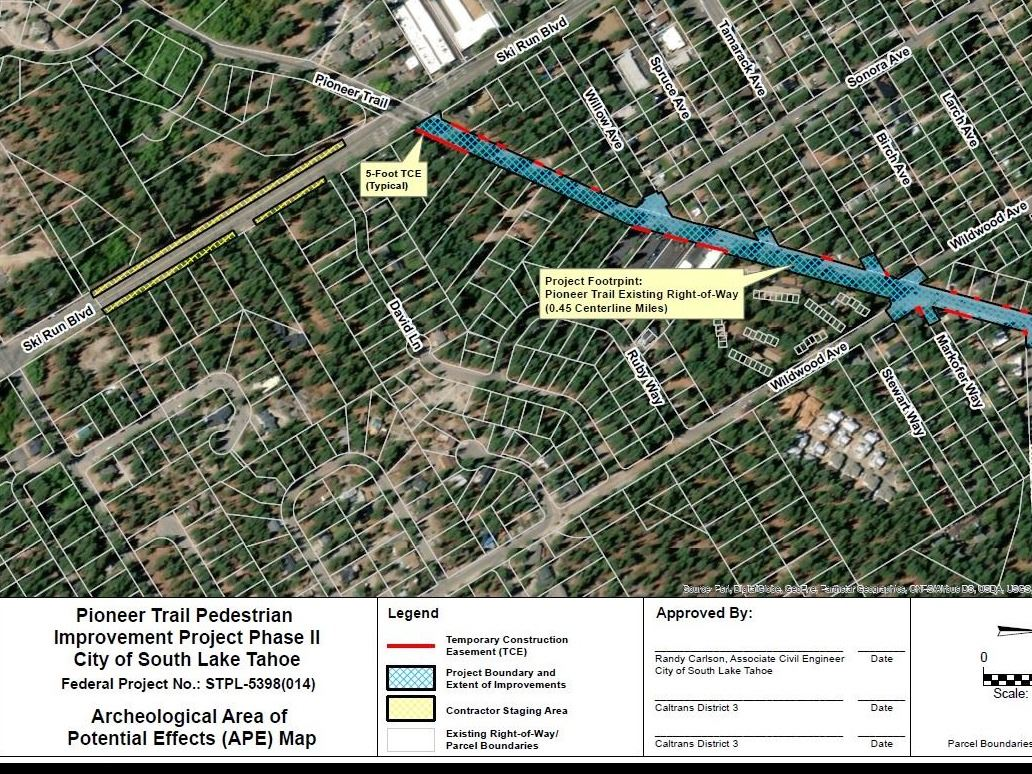 Pioneer Trail Pedestrian Improvement Project Phase II