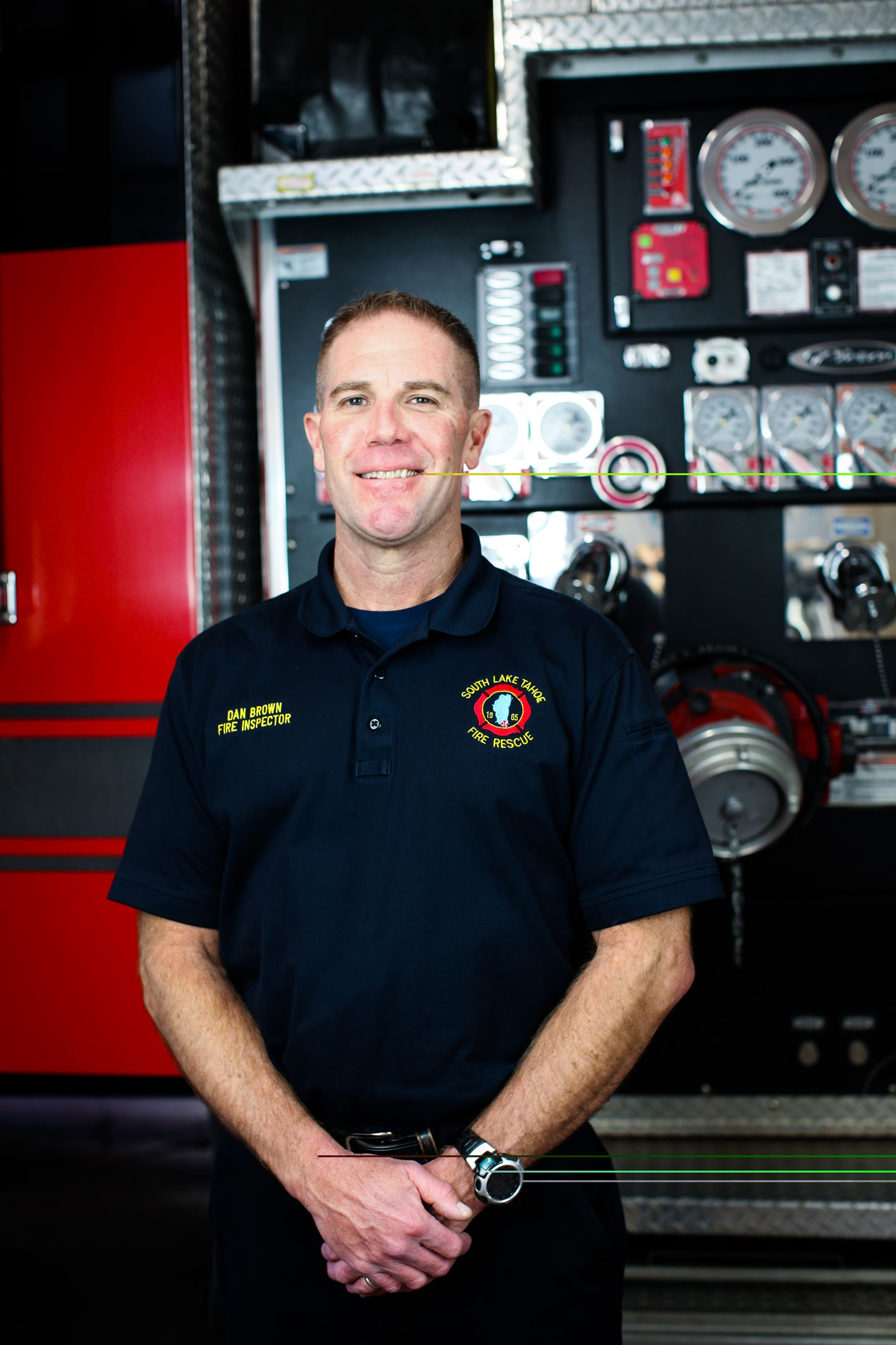 Fire Safety Inspector Dan Brown