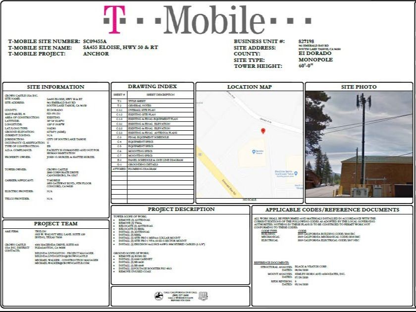 T-Mobile Eligible Facilities Request