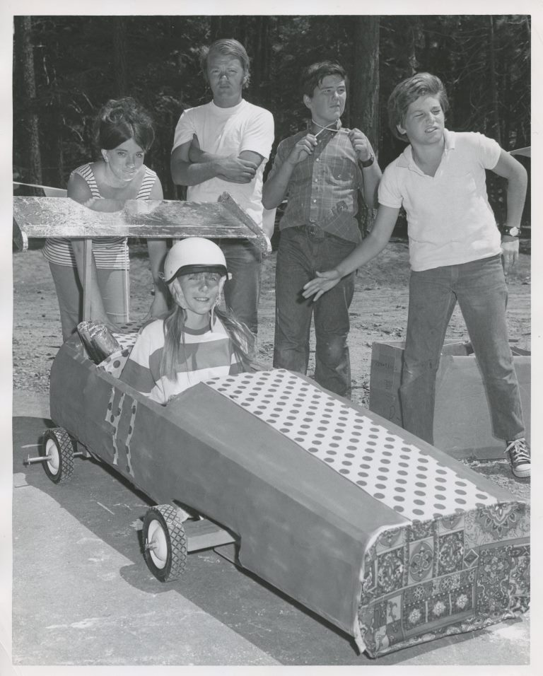 1971 Parks and Rec Youth with Go Cart.jpg