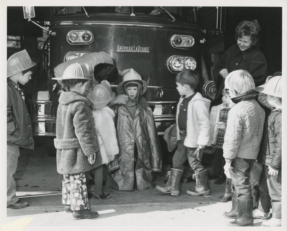 1970 Children at Fire Station.jpg